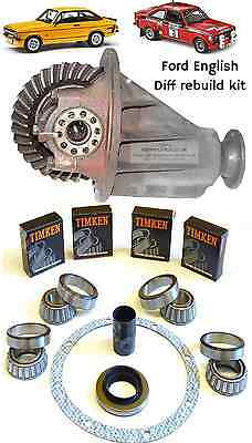 FORD ENGLISH DIFF REBUILD KIT for Mk1 Mk2 Escort Cortina Lotus 7 Locost & Kitcar