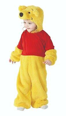 Rubies 3886960 - Furry Winnie the Pooh 1 Piece, Baby 2-3 J. Overall Plüschkostüm