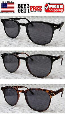 CLASSIC BLACK TORTOISE HALF FRAME DESIGNER SUNGLASSES SHADES BUY 3 GET 1 (Buy Designer Sunglasses)