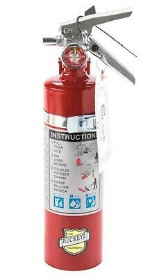 Fire Extinguisher Abc Dry Chemical Rechargeable Dot Vehicle Bracket 2.5 Lbs.