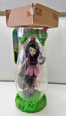 Disney Fairies Vidia Doll in Flower Petal Case New NRFB