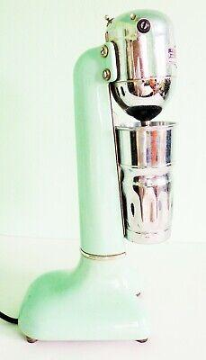 1940s Jadite Soda Fountain Milkshake Commercial Bar Huge 19 Mixer Wcup Works
