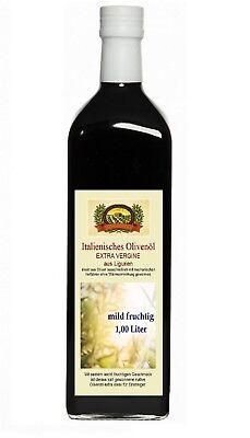 Mildes Olivenöl (Olivenöl  Extra Vergine  Ligurien mild fruchtig 1 l)