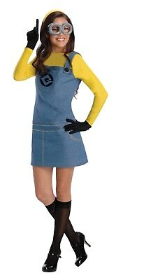 Adult Women's Minion - Dispicable Me 2 Halloween Costume - Size Large