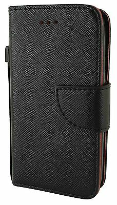 For Samsung Galaxy Avant G386 Leather Wallet Flip Case Cover w Card Holder Strap on Rummage