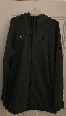 Authentic Nike Michael Jordan cust1 sweatshirt hoodie Charlotte Hornets NBA