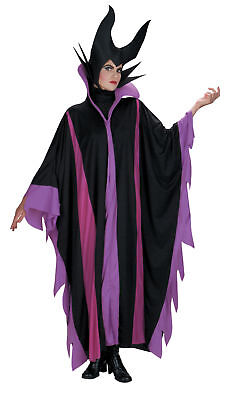 Maleficent Deluxe Adult Costume Tunic Disguise Villain Sleeping Beauty - Maleficent'deluxe Adult Kostüm