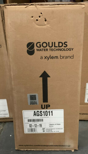 XYLEM GOULDS SUBMERSIBLE GRINDER PUMP MODEL AGS1011 1 HP  LIBERTY PUMP PRG100