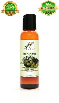 Olive Oil 2 oz UNREFINED EXTRA VIRGIN NATURAL Cold Pressed VELONA Cooking Oils & Serving Oils