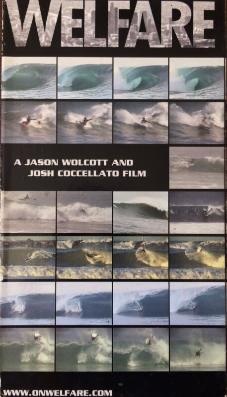 WELFARE, A Jason Wolcott And Joshua Coccelatto Bodyboarding Surfing Video. VHTF