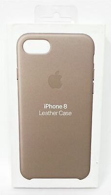 Apple Leather Case for Apple iPhone 8 and 7 Taupe MQH62ZM/A Genuine New