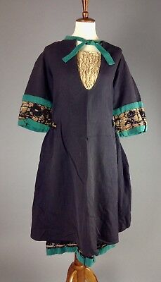 Vintage/Antique Edwardian 1910's/1920's Wool Dress/Tunic