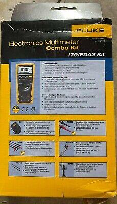 Fluke 179eda2 6-piece Industrial Electronics Multimeter Combo Kit