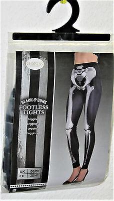 ins  Karneval Fasching Horror Gothic Christys Costumes Hose (Skelett Hose)