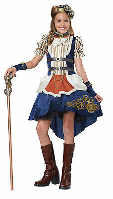 Victorian Steampunk Fashion Girl Tween Girls Costume