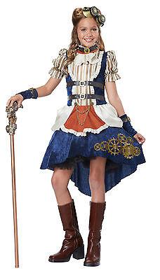 Victorian Steampunk Fashion Girl Tween Girls Costume](Tween Steampunk Costume)