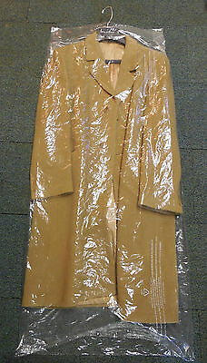 Lot Of 15 Dry Cleaner Poly Garment Gusseted Plastic Bags 21  X 4  X 54  Coat