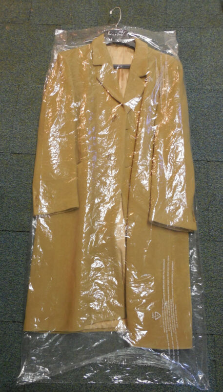 """25 DRY CLEANER POLY GARMENT GUSSETED PLASTIC BAGS 21"""" x 4"""" x 54"""" free shipping"""
