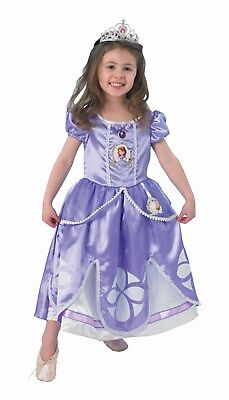 RUB 3889548 Sofia the First Deluxe Disney Lizenz Kinder Kostüm - Sofia Disney Prinzessin Deluxe Kostüm