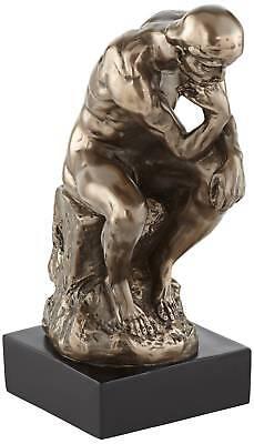 Bronze Thinker on a Rock 12