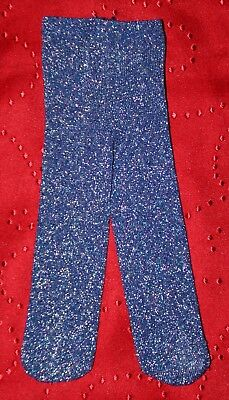 American Girl Doll BLUE PURPLE SPARKLE TIGHTS for 18