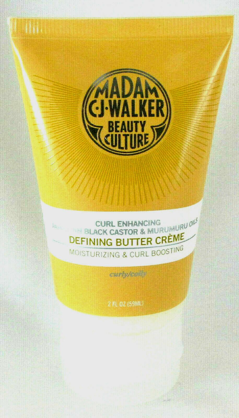 Madam CJ. Walker Beauty Culture Curl Enhancing Defining Butter Creme 2oz NEW - $20.00