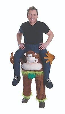 Mottoland 2843 - Huckepack Hose Affe, Tierkostüm für Erwachsene