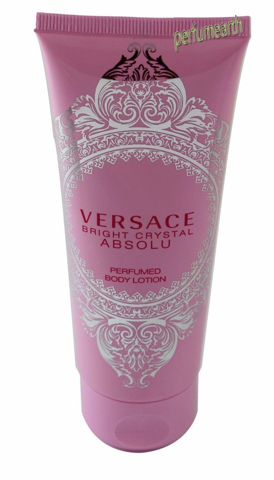 Versace Bright Crystal Absolu Unbox 3.3/3.4oz. Body Lotion