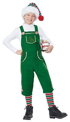 Toymaker Elf Boys Santa's Workshop Helper Child Costume - Kids Elf Costumes