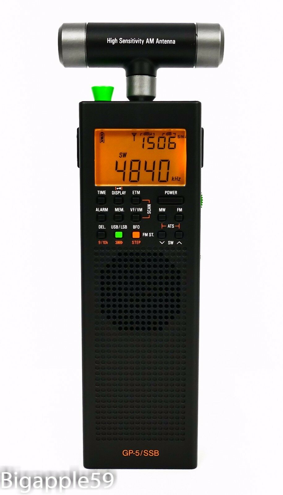 County Comm GP-5/SSB Handheld AM FM SW Radio Receiver DSP RE