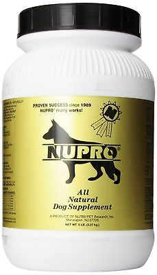 NUPRO All Natural Dog Supplement Nutritive support Gold 5Lb