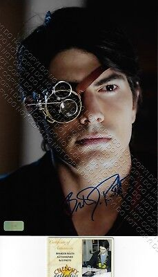 8x12 SIGNED AUTOGRAPHED PHOTO BRANDON ROUTH DYLAN DEAD OF NIGHT SUPERMAN RETURNS
