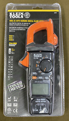 Klein Tools Cl700 - 600a Ac Auto-ranging Trms Digital Clamp Meter....free Sh