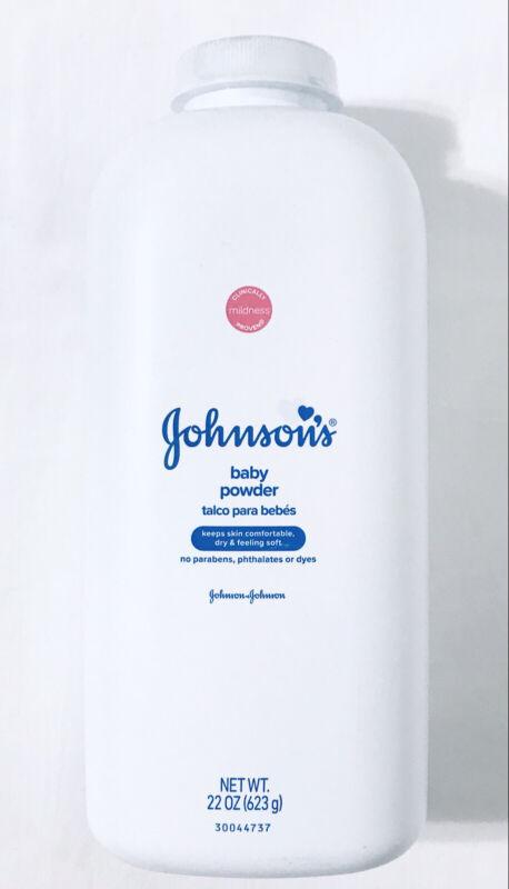 Johnson's Baby Powder 22 oz. Original Hypoallergenic And Paraben Free Talc Talco