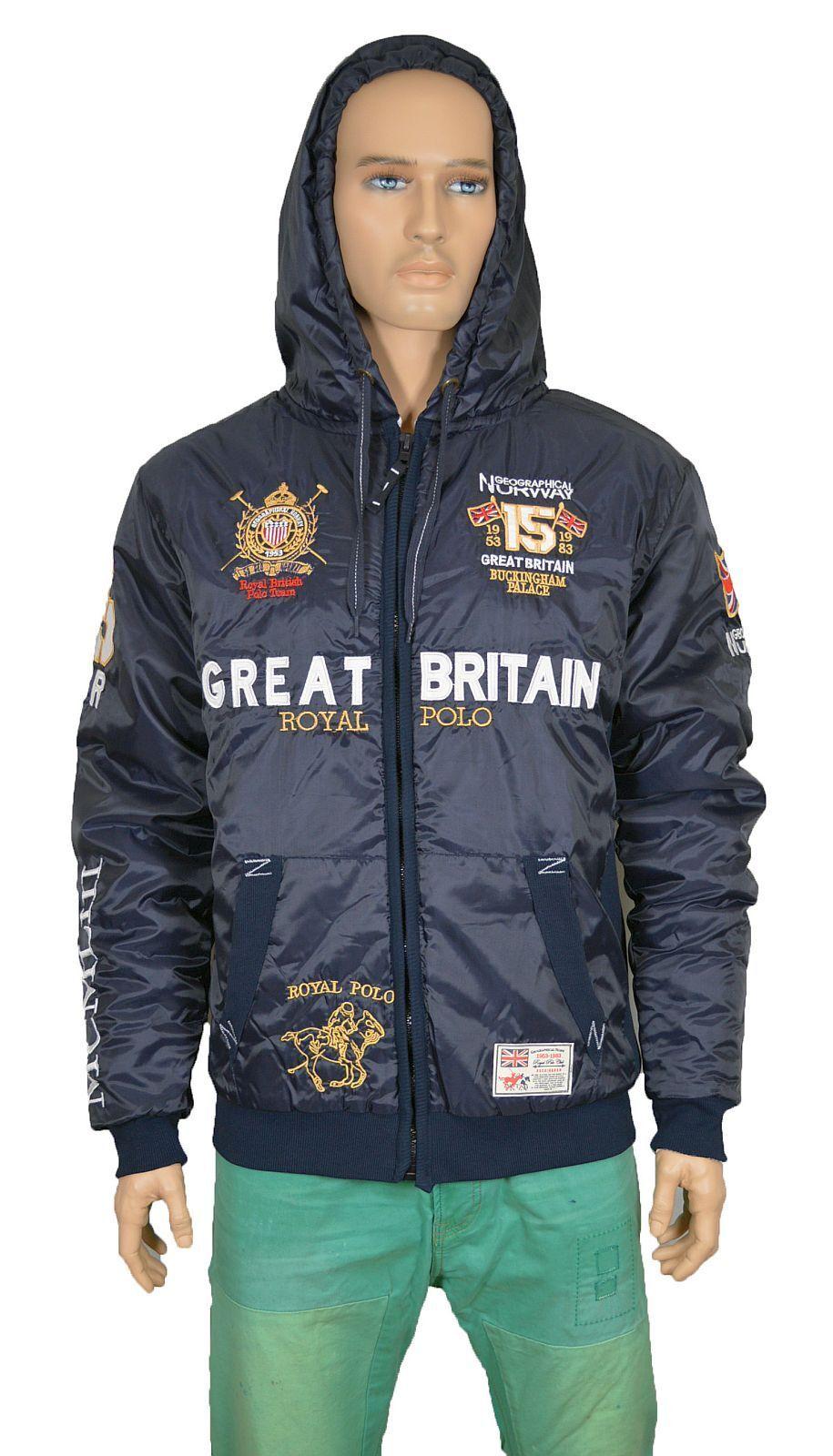Geographical Norway Bingland Great Britain Marken Herren Jacken sale 49021600