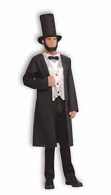 ABRAHAM LINCOLN PRESIDENT LINCOLN HONEST ABE HALLOWEEN COSTUME ADULT STANDARD - Abraham Lincoln Costume Adult