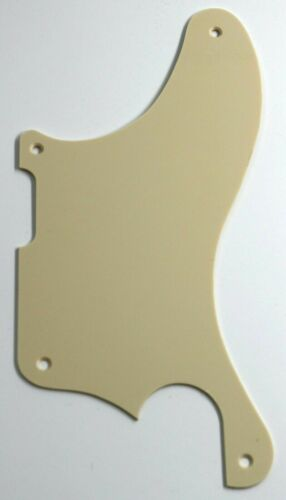 Guitar Pickguard For Fender Tele Caballo Tono Ligero,1 Ply Vintage Yellow 14