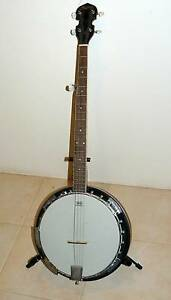 REMO HEAD, Weatherking 5 String Banjo: Model: Skylark, 38inch Connolly Joondalup Area Preview