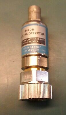 Hp 8470b Crystal Detector Low-barrier Schottky Diode - 10 To 18 Ghz - Type Apc-7