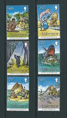 ALDERNEY 2007 RUDYARD KIPLING'S JUST SO STORIES SET OF 6 UNMOUNTED MINT, MNH