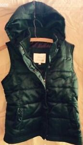 Urban Behavior winter Vest dark green