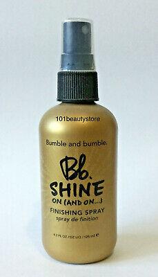 - BUMBLE & BUMBLE BB Shine Finishing Spray 4.2oz **NEW**