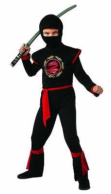 Dragon Ninja With Red Belt - Child Ninja Costume](Red Dragon Costume Child)