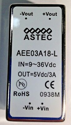 Isolated Dcdc Converters 15w 9-36vin Pn Aee03a18-l