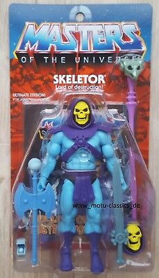 Auspacker# ULTIMATE SKELETOR 2019 Club Grayskull 2.0 MOTU CLASSICS SUPER 7 NEU
