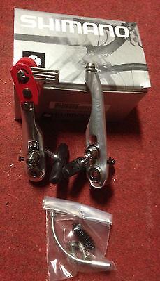 Pareja Frenos Bici MTB V-Brake Shimano Nexave Mountain Bike Brake Set Front...