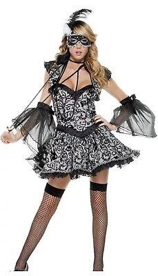 Mardi Gras Costume Women (Forplay Masked Beauty Masquerade Mardi Gras Sexy Costume Xs/s Style 558422)