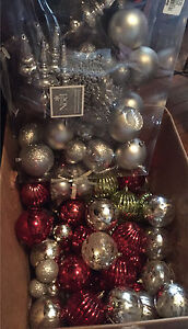 New Shatter proof Christmas ornaments