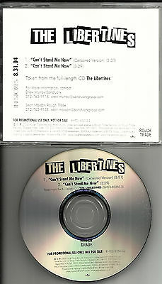 PETE Doherty THE LIBERTINES Can't Stand me now  PROMO DJ CD Single baby Shambles