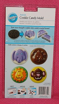 Animal Chocolate Cookie/Candy Mold, Wilton,Clear Plastic,2115-1354,Oreo
